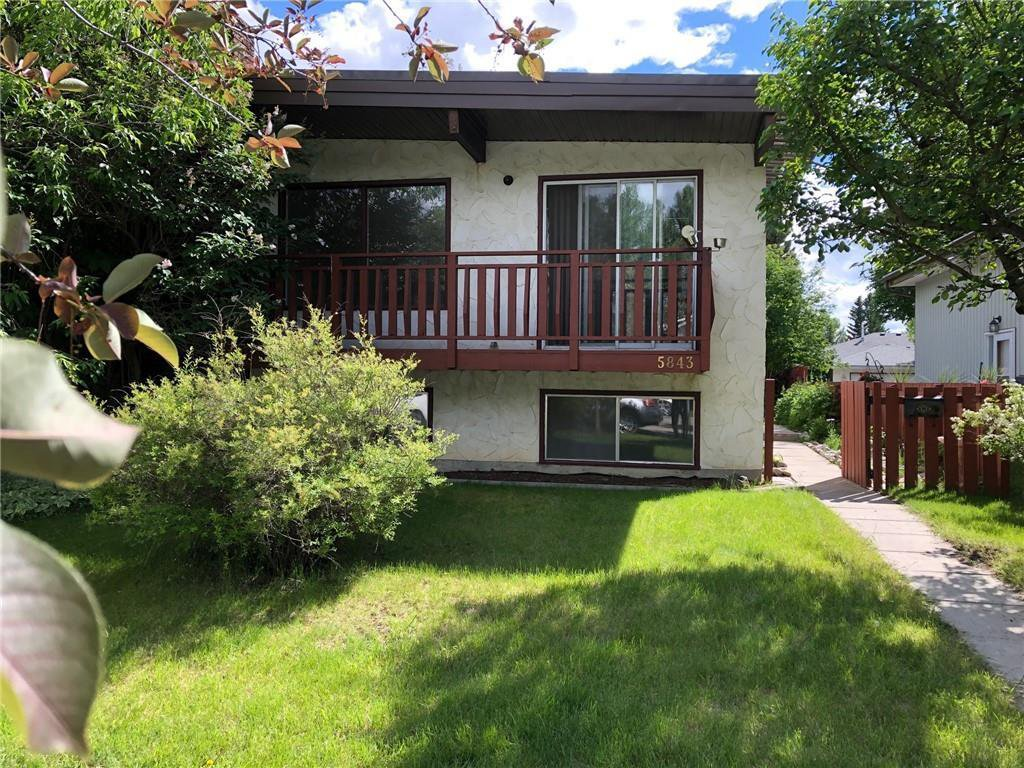 Main Photo: 5843 66 Avenue NW in Calgary: Dalhousie Semi Detached for sale : MLS®# C4306176