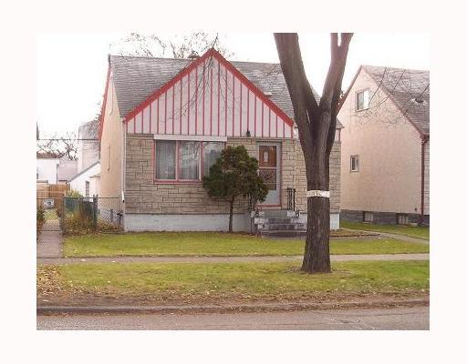Main Photo: 1191 DOMINION Street in WINNIPEG: West End / Wolseley Residential for sale (West Winnipeg)  : MLS®# 2920434