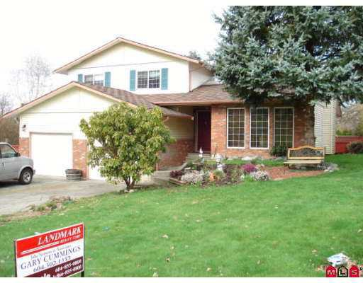Main Photo: 3120 BABICH Street in Abbotsford: Central Abbotsford House for sale : MLS®# F2709829