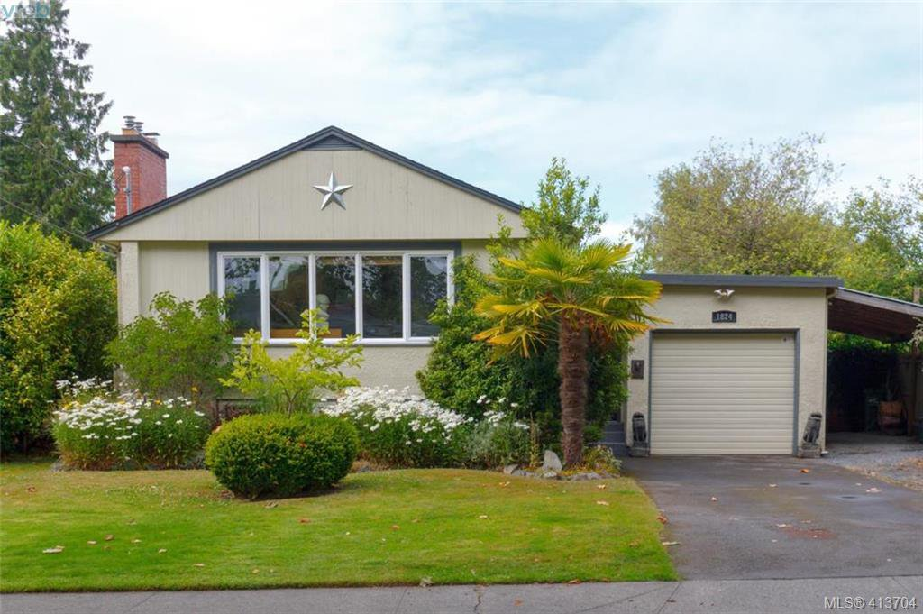 Main Photo: 1824 Chandler Avenue in VICTORIA: Vi Fairfield East Single Family Detached for sale (Victoria)  : MLS®# 413704