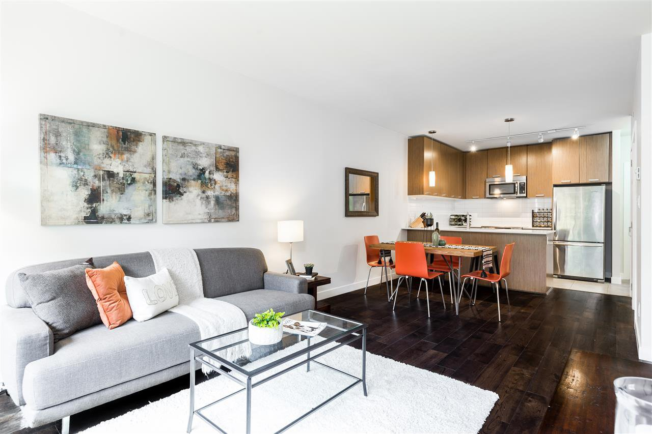 "Main Photo: 208 2321 SCOTIA Street in Vancouver: Mount Pleasant VE Condo for sale in ""SOCIAL"" (Vancouver East)  : MLS®# R2403191"