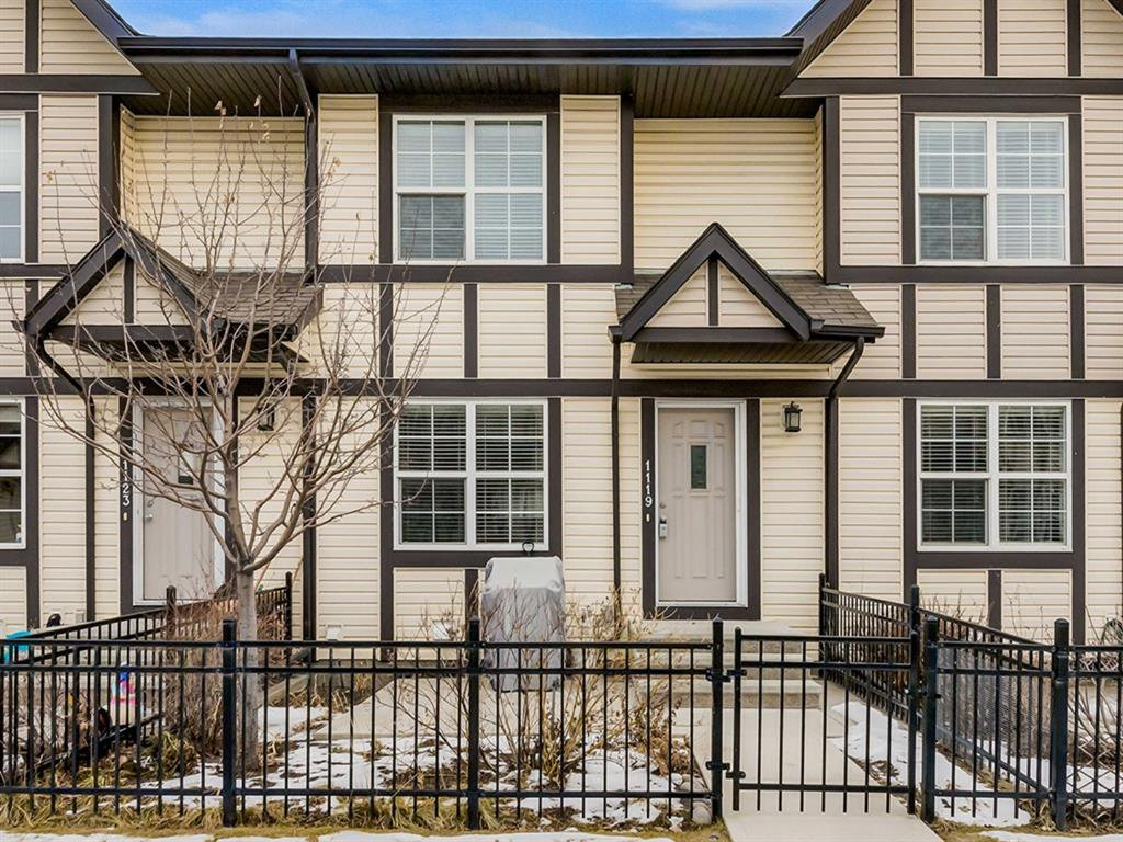 Main Photo: 1119 CRANFORD Court SE in Calgary: Cranston Row/Townhouse for sale : MLS®# A1051961