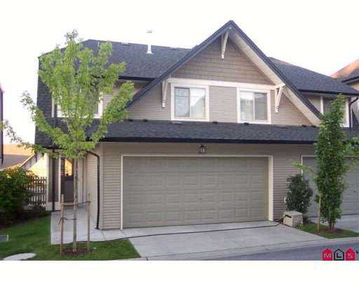 "Photo 1: Photos: 16 15152 62A Avenue in Surrey: Sullivan Station Townhouse for sale in ""THE UPLANDS"" : MLS®# F2722783"