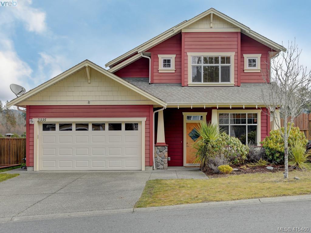 Main Photo: 2335 Demamiel Place in SOOKE: Sk Sunriver Single Family Detached for sale (Sooke)  : MLS®# 415460