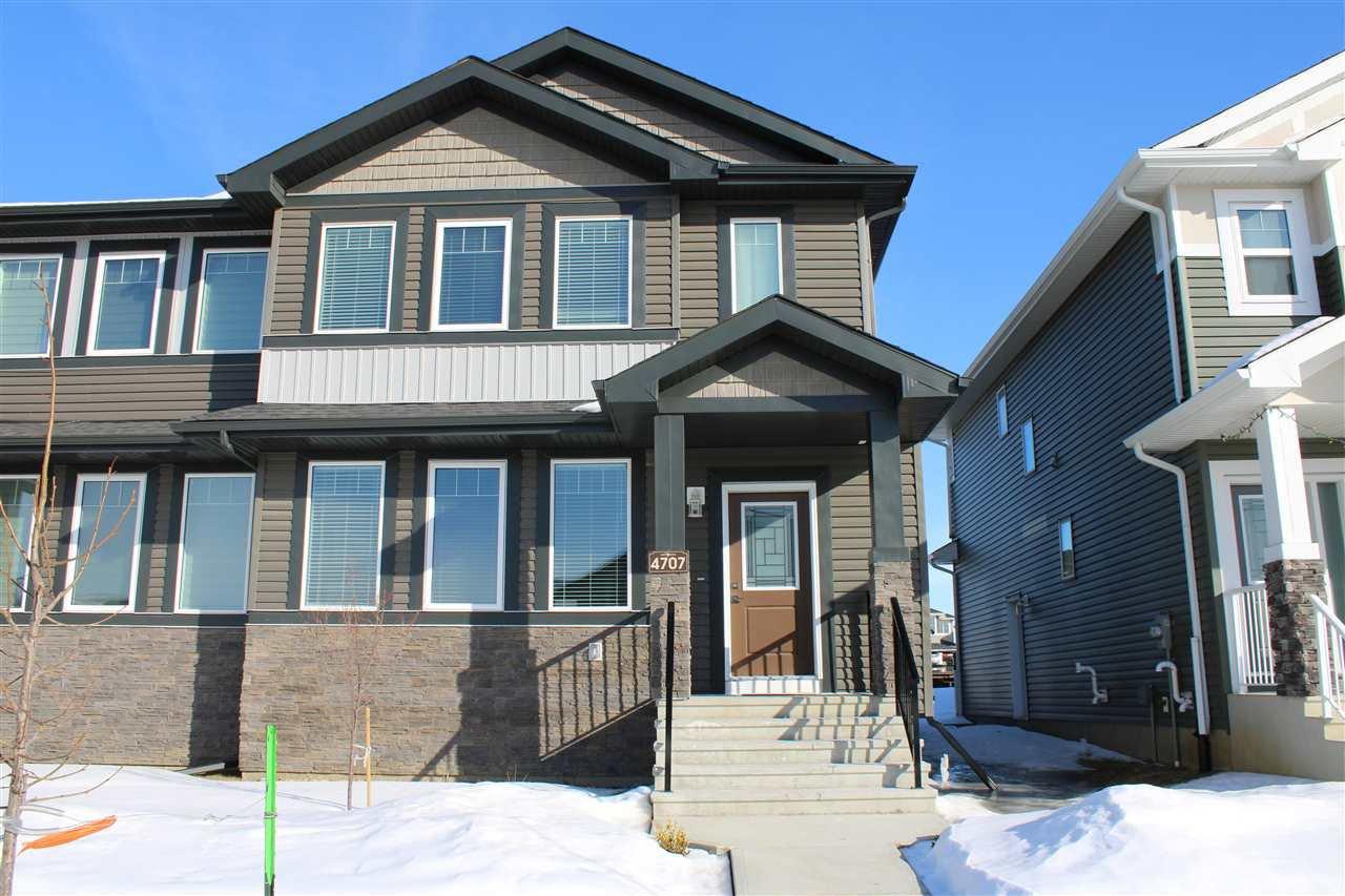 Main Photo: 4707 36 Street: Beaumont House Half Duplex for sale : MLS®# E4189766