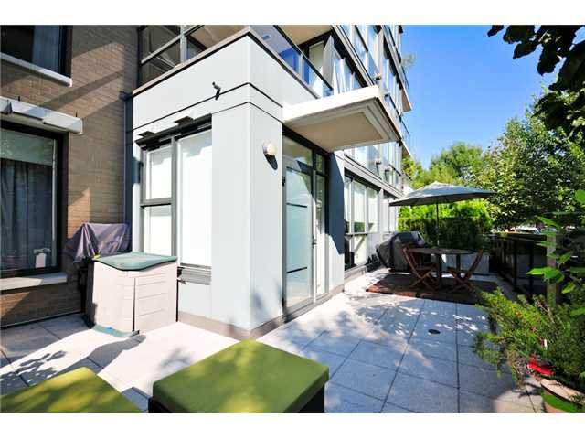Main Photo: # 106 1483 W 7TH AV in Vancouver: Fairview VW Condo  (Vancouver West)  : MLS®# V848899