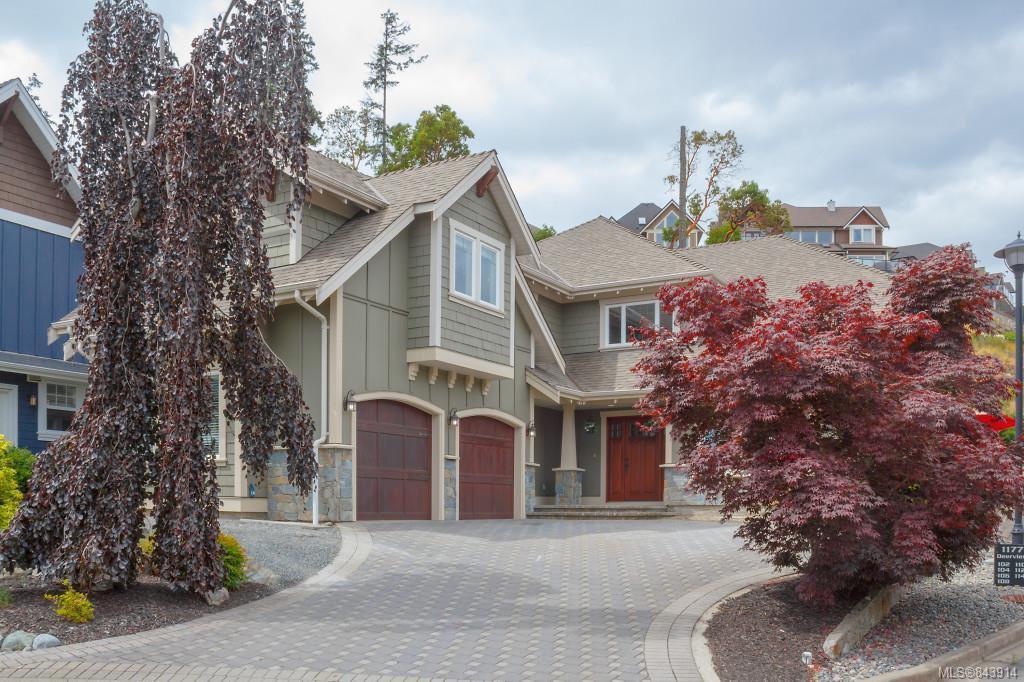 Main Photo: 1173 Deerview Pl in Langford: La Bear Mountain Single Family Detached for sale : MLS®# 843914