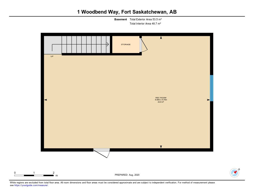 Photo 30: Photos: 1 WOODBEND Way: Fort Saskatchewan House for sale : MLS®# E4209041