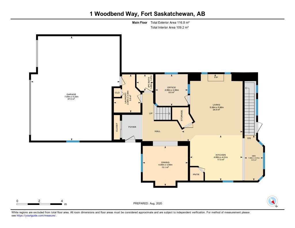 Photo 28: Photos: 1 WOODBEND Way: Fort Saskatchewan House for sale : MLS®# E4209041