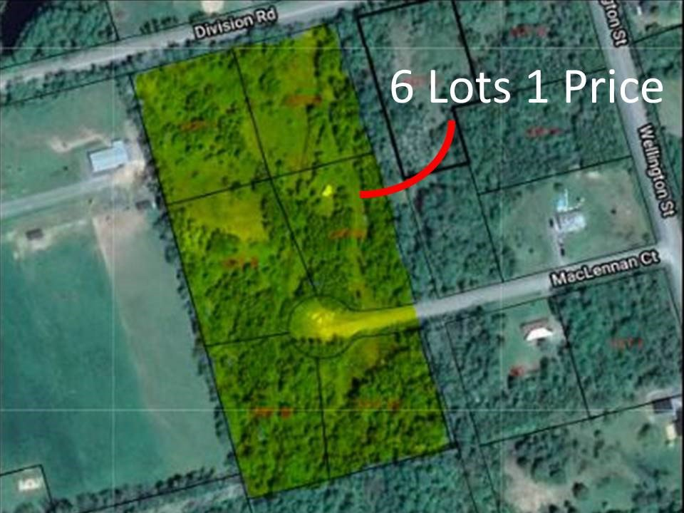 Main Photo: 6-11 Division Road in Pictou: 107-Trenton,Westville,Pictou Vacant Land for sale (Northern Region)  : MLS®# 202018974