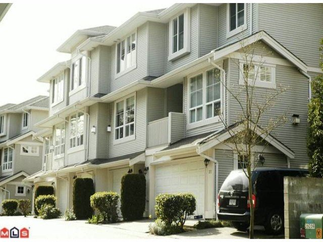"Main Photo: 22 14952 58 Avenue in Surrey: Sullivan Station Townhouse for sale in ""Highbrae"" : MLS®# f1006679"