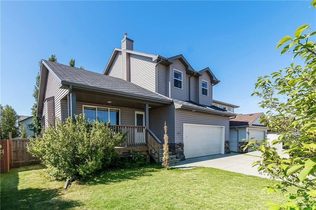 Main Photo: 107 HILLVIEW Lane: Strathmore Detached for sale : MLS®# C4305092