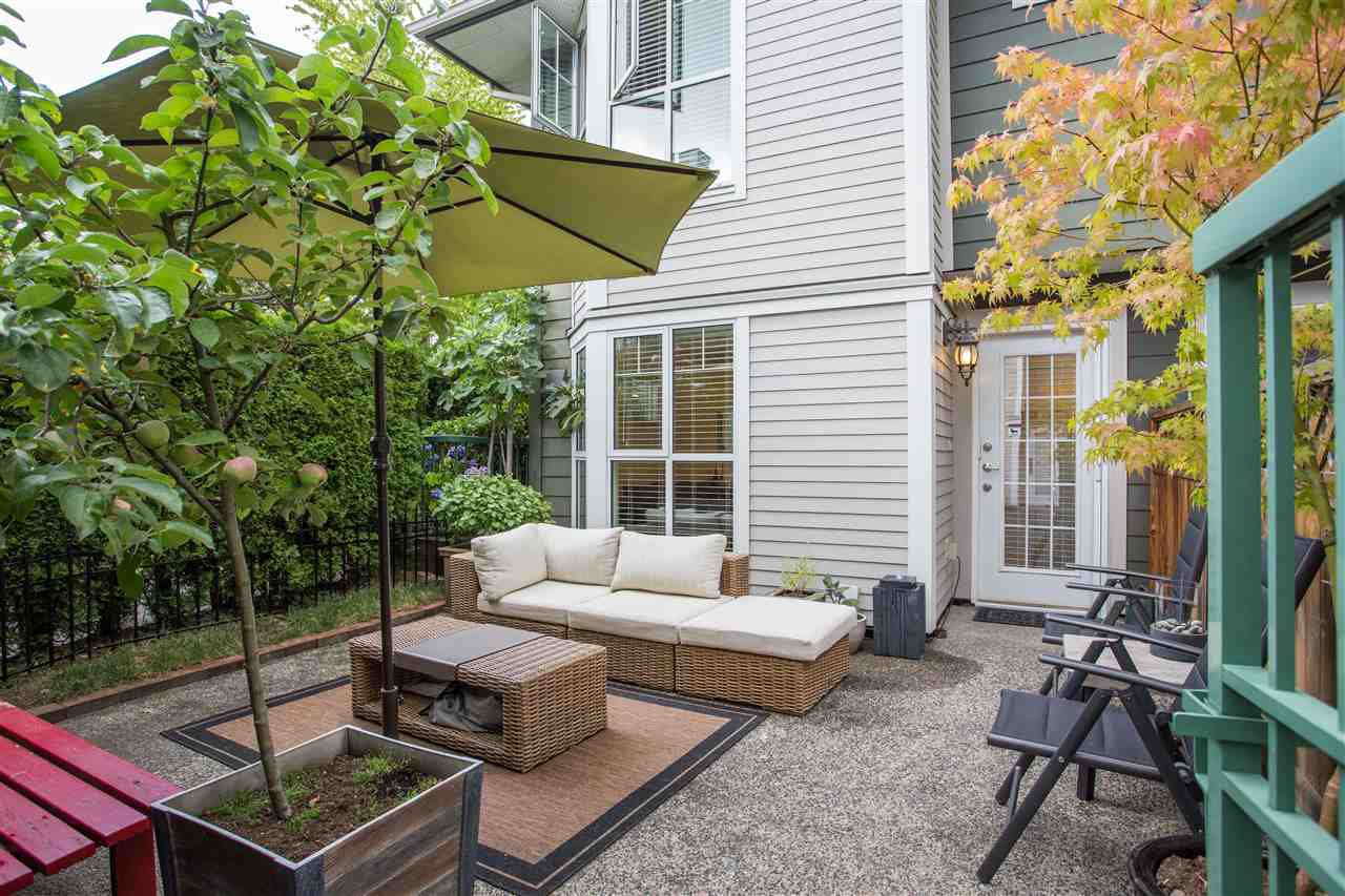 """Main Photo: 101 248 E 18TH Avenue in Vancouver: Main Townhouse for sale in """"NEWPORT"""" (Vancouver East)  : MLS®# R2491770"""
