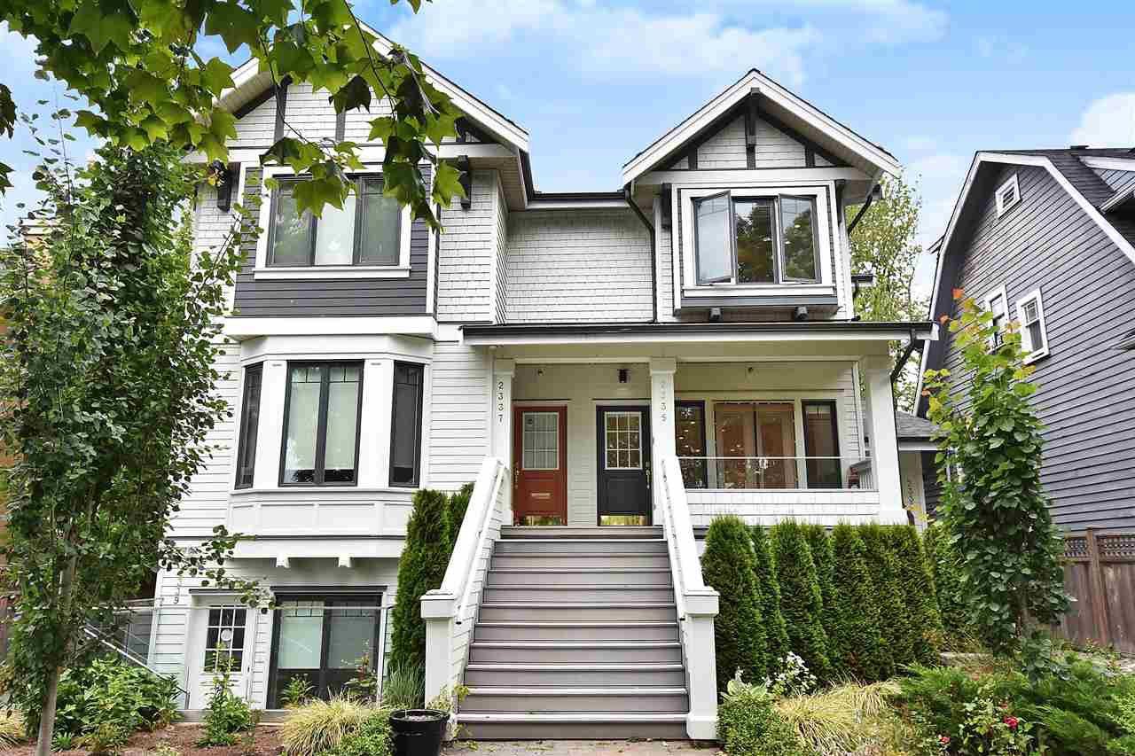 Main Photo: 2335 W 10TH AVENUE in Vancouver: Kitsilano Townhouse for sale (Vancouver West)  : MLS®# R2428714