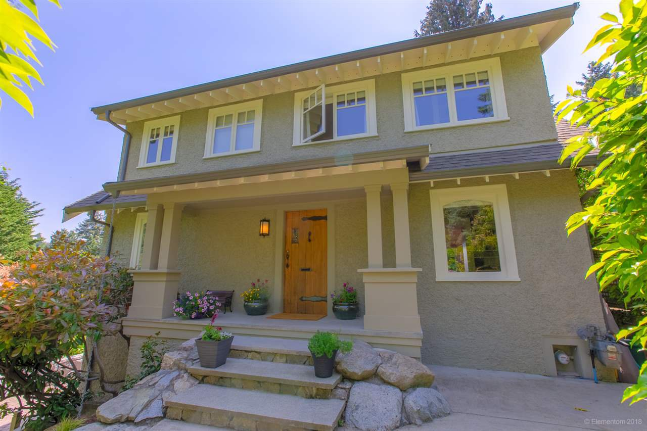 """Main Photo: 3528 CREERY Avenue in West Vancouver: West Bay House for sale in """"West Bay Catchment"""" : MLS®# R2485202"""