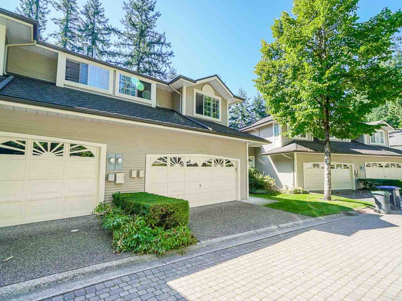 """Main Photo: 95 101 PARKSIDE Drive in Port Moody: Heritage Mountain Townhouse for sale in """"Treetops"""" : MLS®# R2494179"""