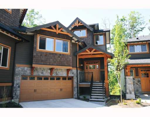 "Main Photo: 69 24185 106B Avenue in Maple Ridge: Albion 1/2 Duplex for sale in ""TRAILS EDGE"" : MLS®# V796163"