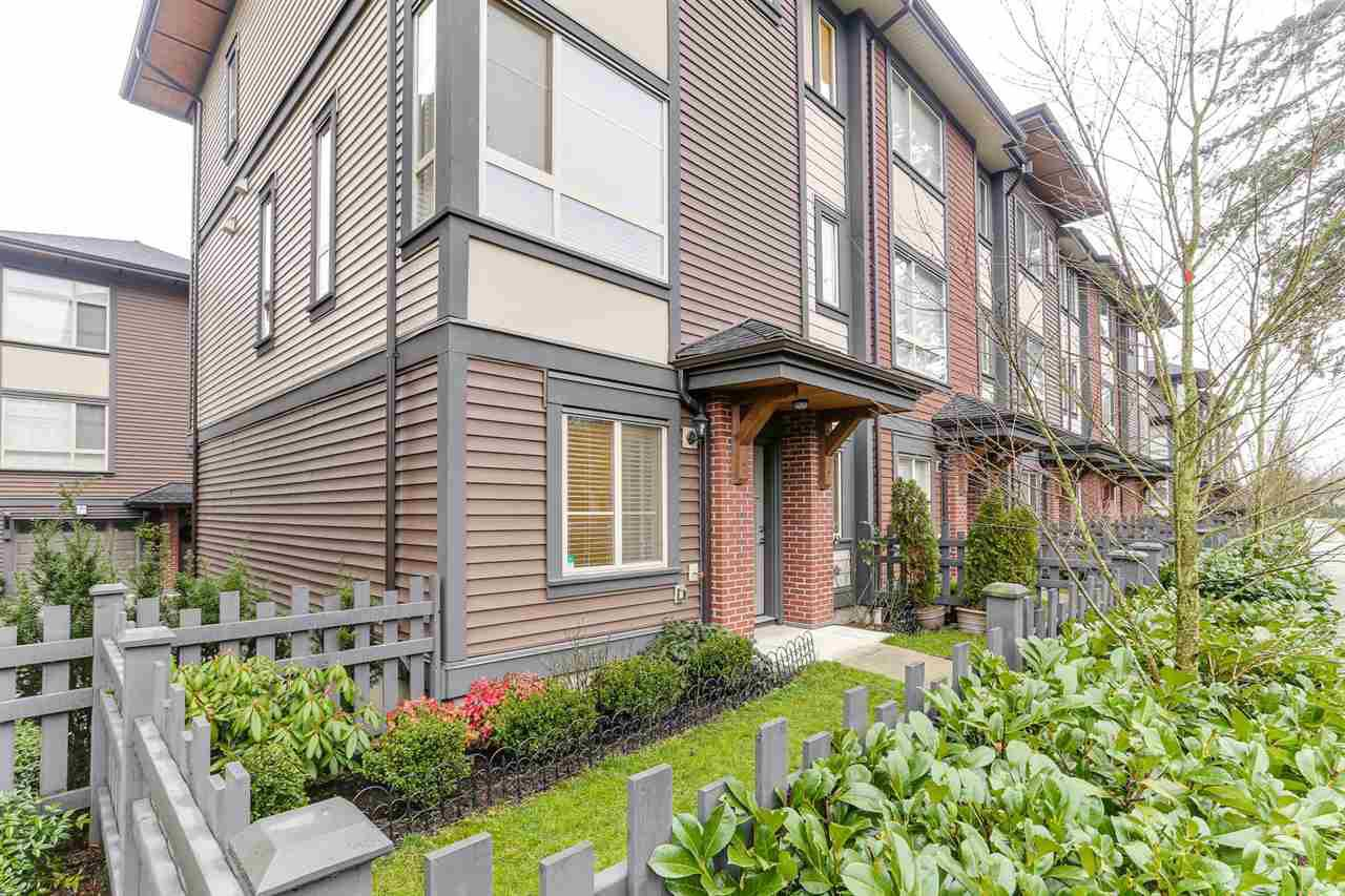 """Main Photo: 11 16127 87 Avenue in Surrey: Fleetwood Tynehead Townhouse for sale in """"ACADEMY"""" : MLS®# R2425699"""