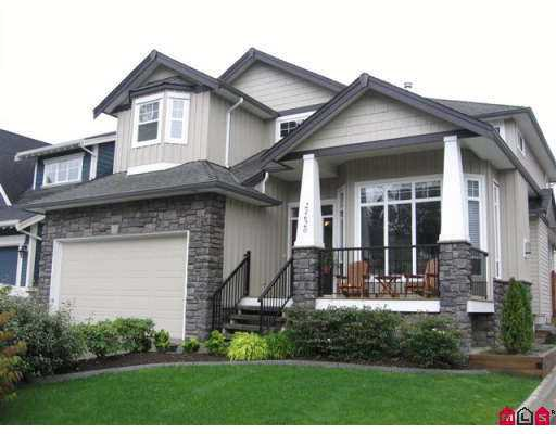 """Main Photo: 21620 93RD Avenue in Langley: Walnut Grove House for sale in """"Redwoods Estates"""" : MLS®# F2707802"""
