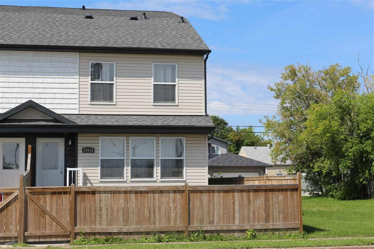 Main Photo: 11638 80 Street in Edmonton: Zone 05 House Half Duplex for sale : MLS®# E4169889