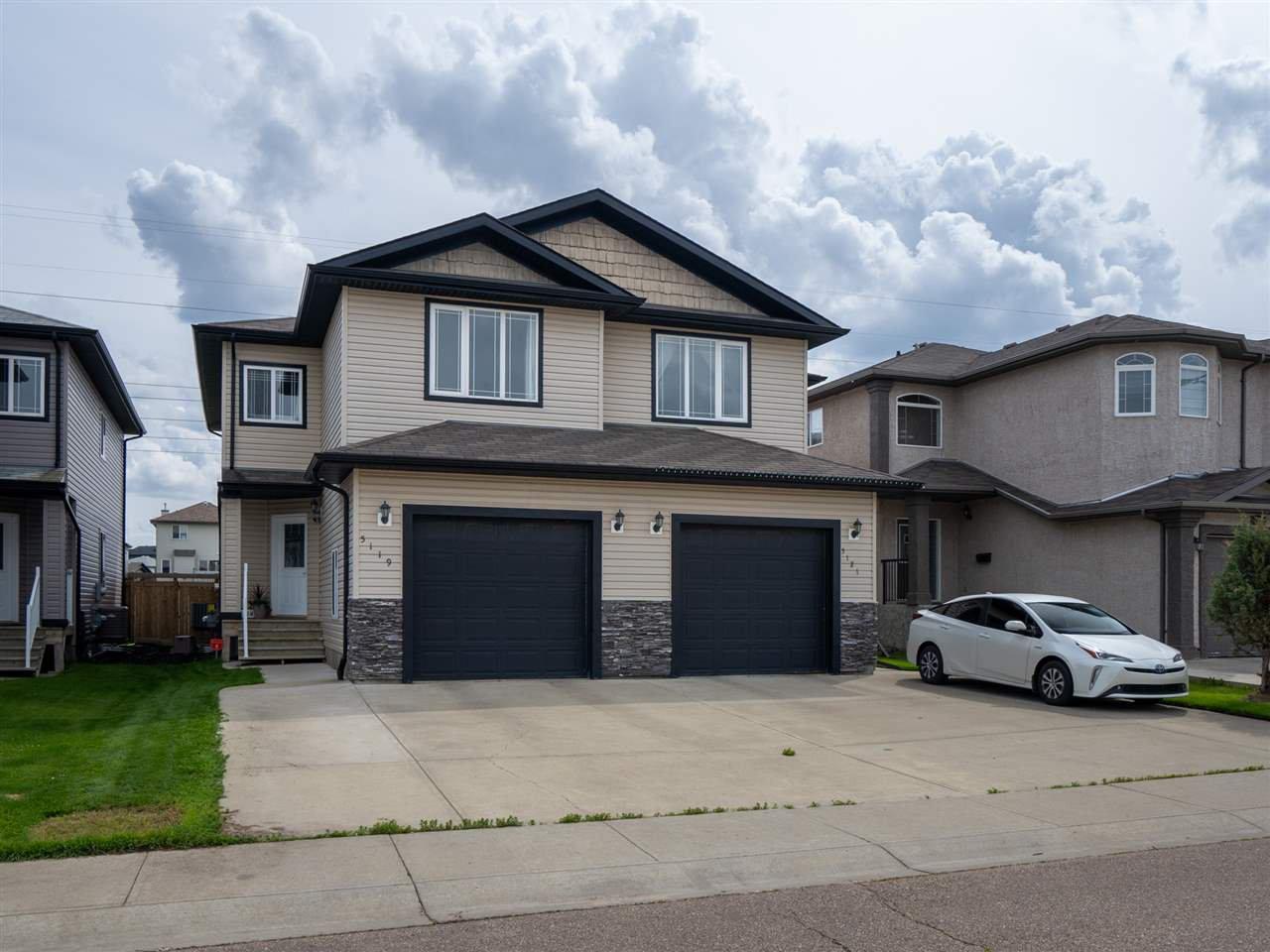 Main Photo: 5119 164 Avenue in Edmonton: Zone 03 House Half Duplex for sale : MLS®# E4206026