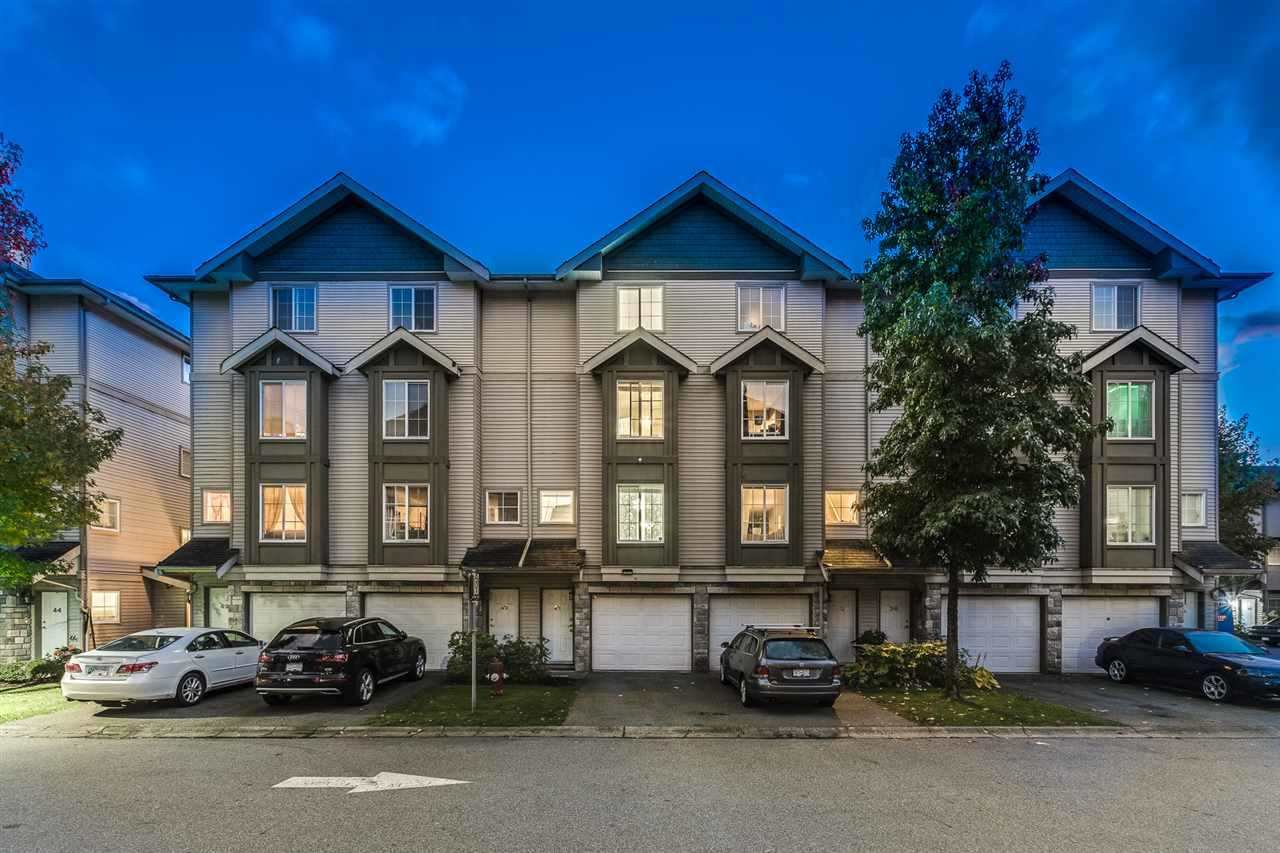 "Main Photo: 39 14855 100 Avenue in Surrey: Guildford Townhouse for sale in ""Guildford Park Place"" (North Surrey)  : MLS®# R2528509"