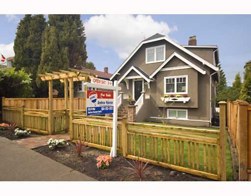 Main Photo: 3005 W KING EDWARD Ave in Vancouver: Dunbar House for sale (Vancouver West)  : MLS®# V644225