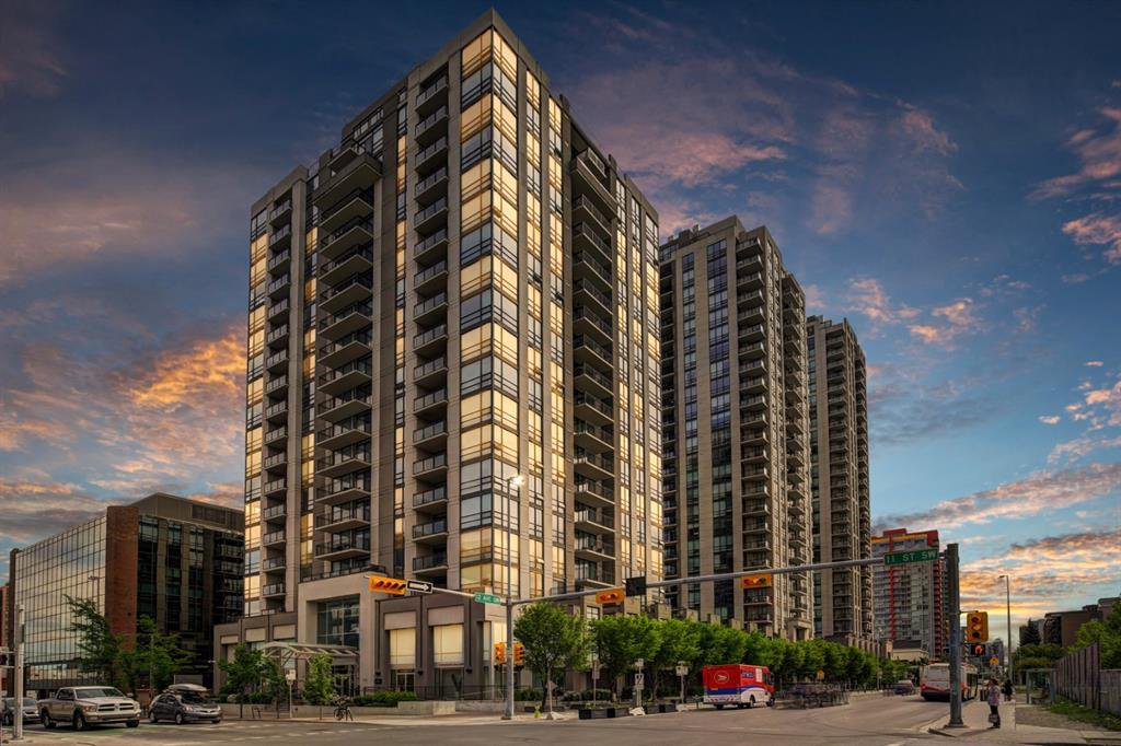 Main Photo: 601 1110 11 Street SW in Calgary: Beltline Apartment for sale : MLS®# A1042876