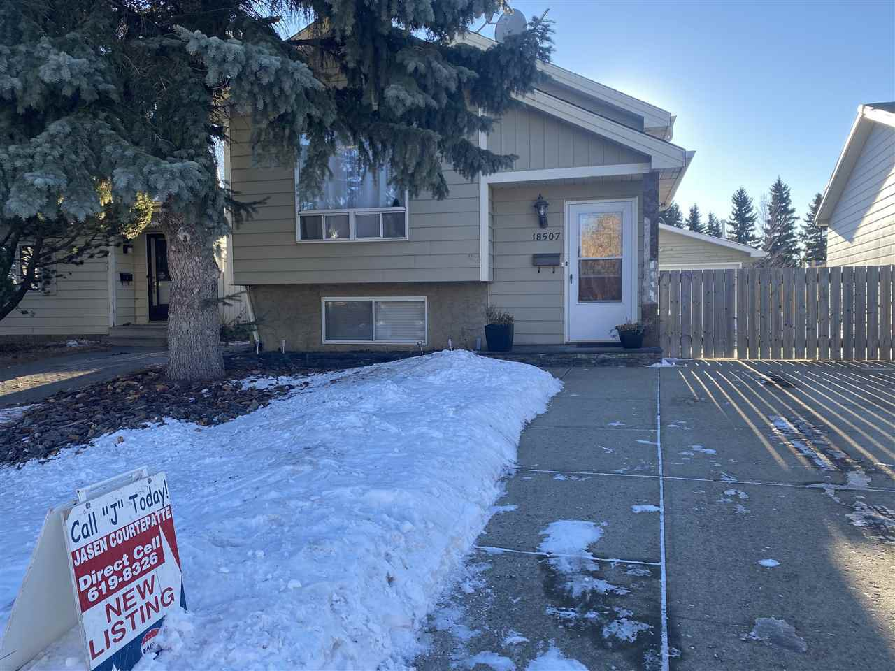 Main Photo: 18507 95A Avenue in Edmonton: Zone 20 House for sale : MLS®# E4225118