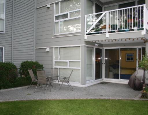 """Main Photo: 103 1820 E KENT Avenue in Vancouver: Fraserview VE Condo for sale in """"PILOT HOUSE"""" (Vancouver East)  : MLS®# V656396"""