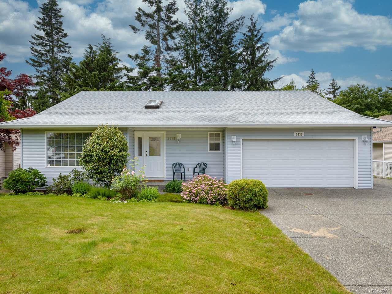 Main Photo: 1435 Sitka Ave in COURTENAY: CV Courtenay East House for sale (Comox Valley)  : MLS®# 843096