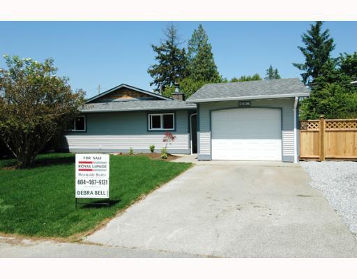 Main Photo: 21096 PENNY Lane in Maple_Ridge: Southwest Maple Ridge House for sale (Maple Ridge)  : MLS®# V647961