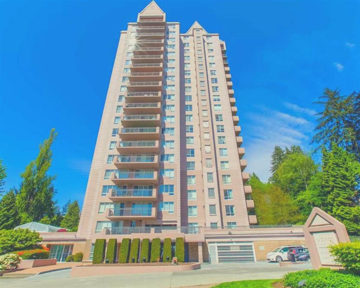 "Main Photo: 1803 551 AUSTIN Avenue in Coquitlam: Coquitlam West Condo for sale in ""Brookmere Towers"" : MLS®# R2467490"