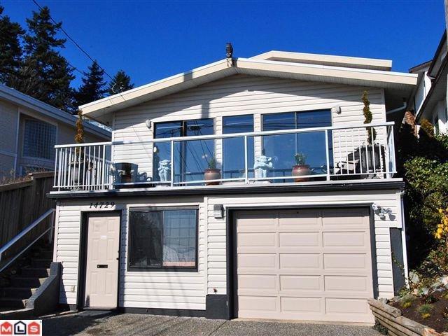 """Main Photo: 14729 UPPER ROPER AV: White Rock House for sale in """"WESTSIDE"""" (South Surrey White Rock)  : MLS®# F1023452"""