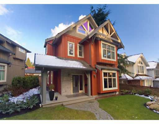 Main Photo: 5890 CROWN Street in Vancouver: Southlands House for sale (Vancouver West)  : MLS®# V633644