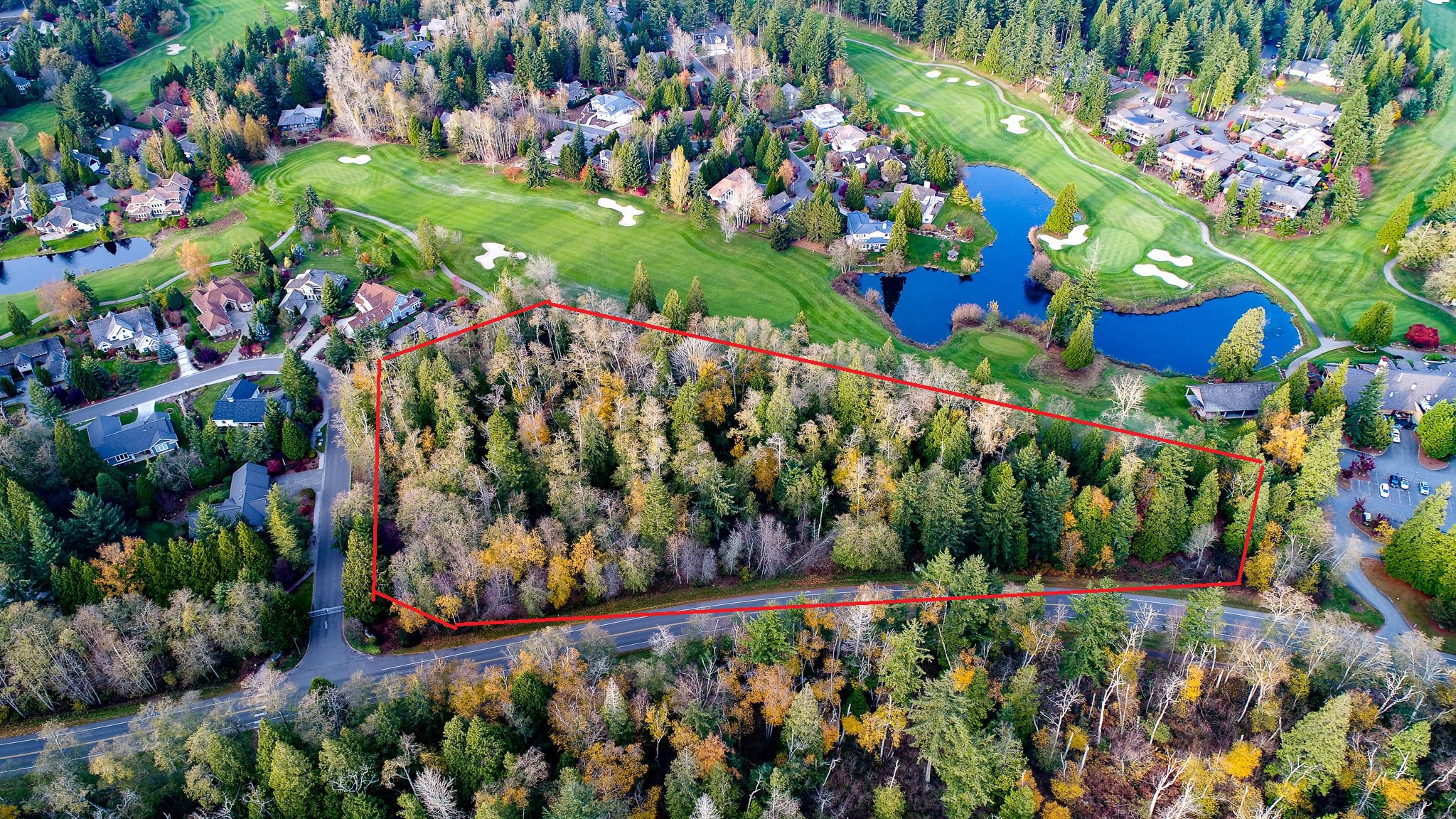 Main Photo: Multifamily lot on Semiahmoo Golf Course