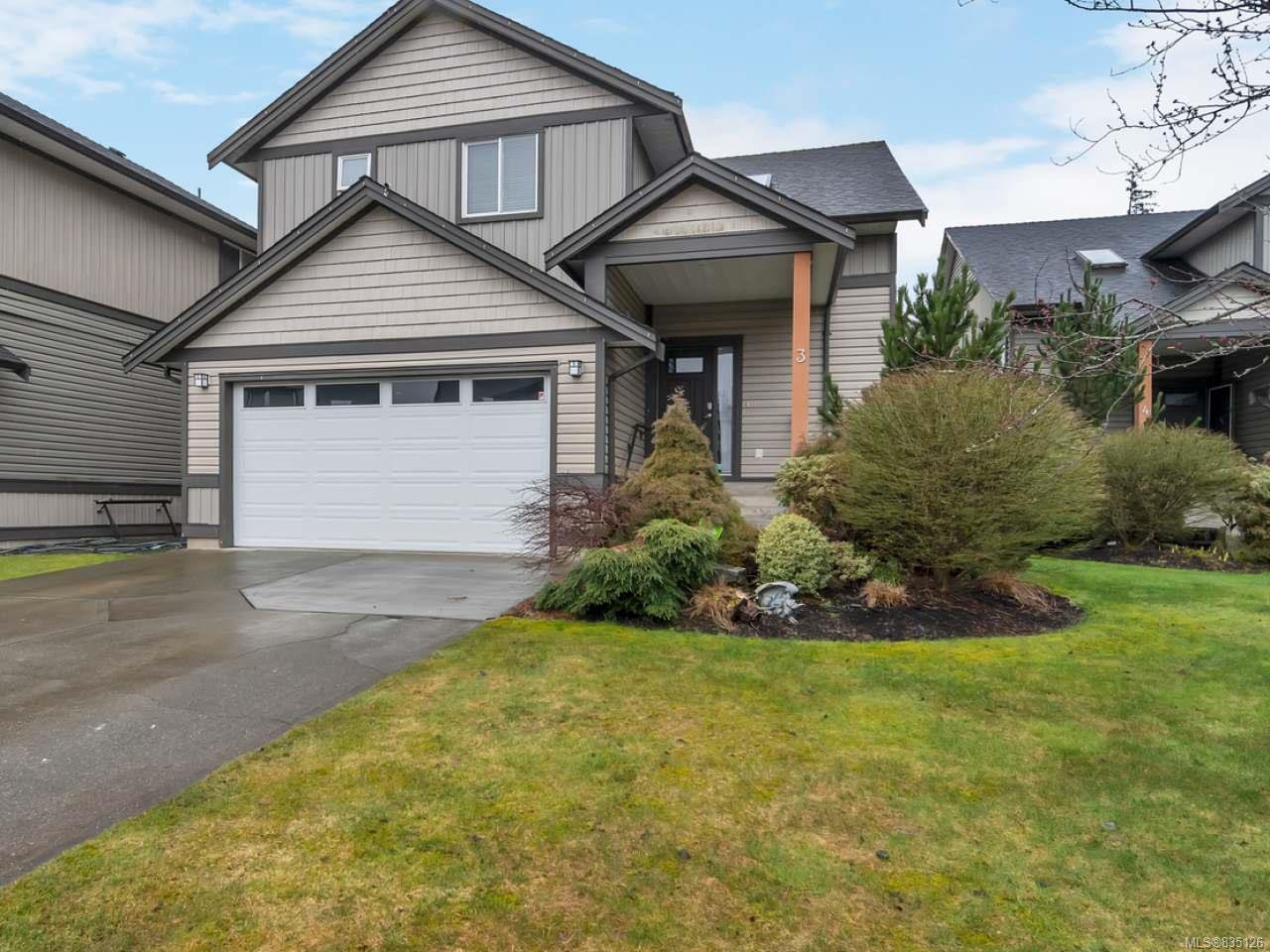 Main Photo: 3 2033 VARSITY Landing in CAMPBELL RIVER: CR Willow Point House for sale (Campbell River)  : MLS®# 835126
