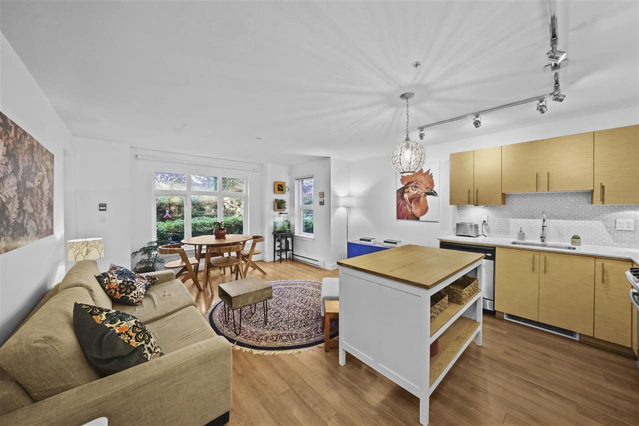 "Main Photo: 103 1533 E 8TH Avenue in Vancouver: Grandview Woodland Condo for sale in ""Credo"" (Vancouver East)  : MLS®# R2518276"