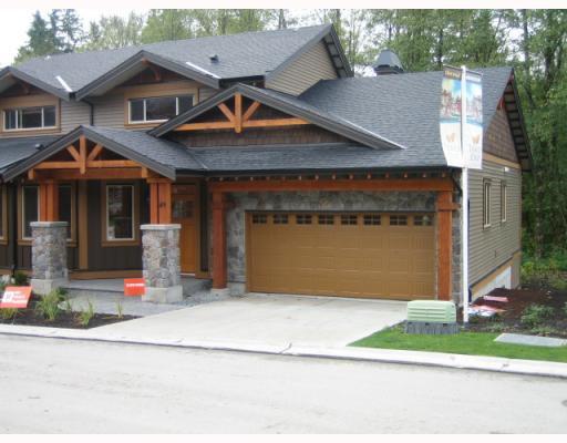"Main Photo: 73 24185 106B Avenue in Maple Ridge: Albion House 1/2 Duplex for sale in ""TRAILS EDGE"" : MLS®# V810261"
