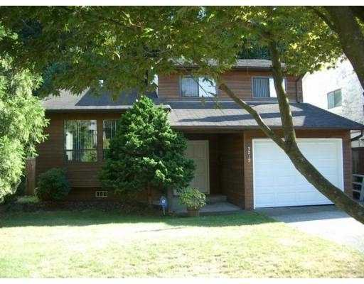 """Main Photo: 3212 SALT SPRING AV in Coquitlam: New Horizons House for sale in """"NEW HORIZONS"""" : MLS®# V549922"""