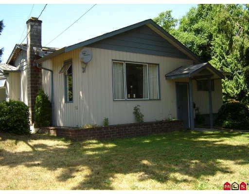 Main Photo: 1605 JACKSON Street in Abbotsford: Poplar House for sale : MLS®# F2916438