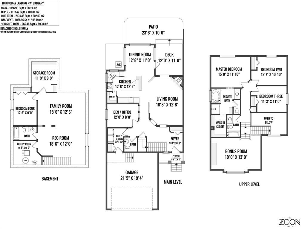Photo 49: Photos: 10 KINCORA Landing NW in Calgary: Kincora Detached for sale : MLS®# A1014388
