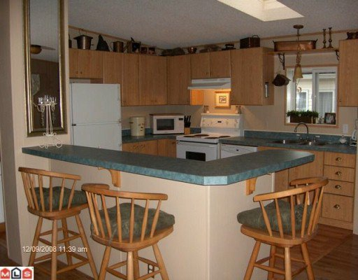 """Photo 3: Photos: 48 41168 LOUGHEED Highway in Mission: Dewdney Deroche Manufactured Home for sale in """"Oasis Estates"""" : MLS®# F1001835"""