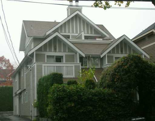 Main Photo: 2353 W 8TH Ave in Vancouver: Kitsilano Townhouse for sale (Vancouver West)  : MLS®# V617990