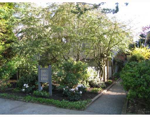 Main Photo: 1986 W 15TH Avenue in Vancouver: Kitsilano Townhouse for sale (Vancouver West)  : MLS®# V764948