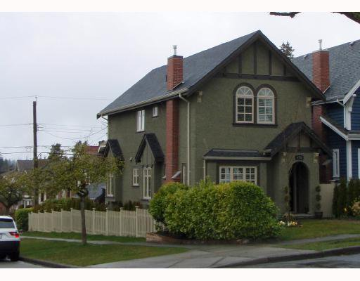 Main Photo: 4785 COLLINGWOOD Street in Vancouver: Dunbar House for sale (Vancouver West)  : MLS®# V770174