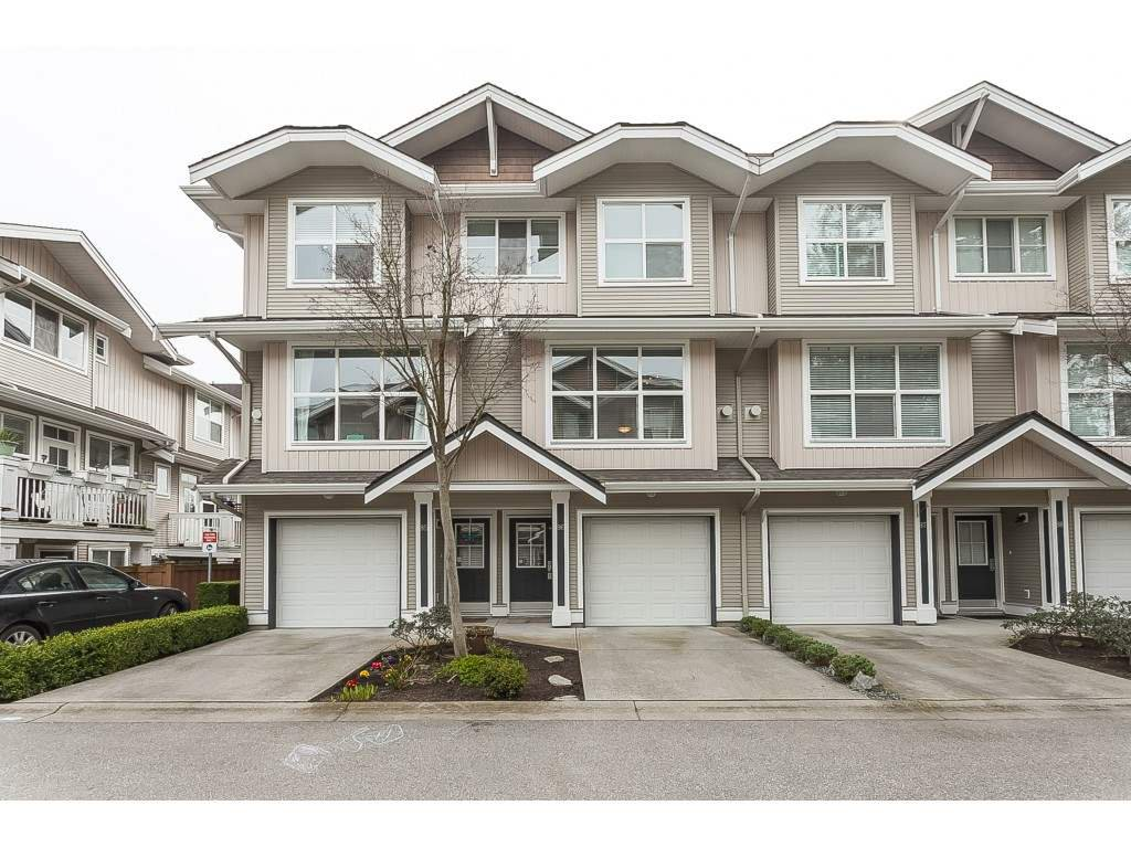 "Main Photo: 86 20460 66 Avenue in Langley: Willoughby Heights Townhouse for sale in ""Willow Edge"" : MLS®# R2445732"