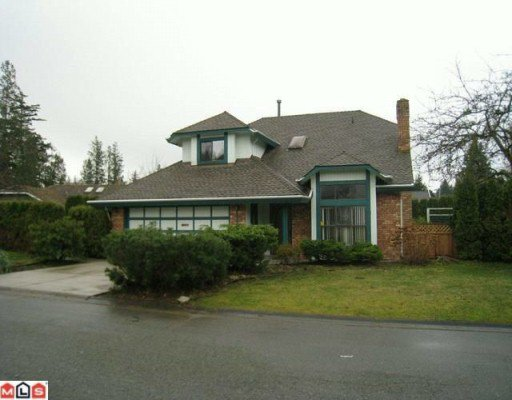 "Main Photo: 14622 18TH Avenue in Surrey: Sunnyside Park Surrey House for sale in ""THE GLENS"" (South Surrey White Rock)  : MLS®# F1003353"