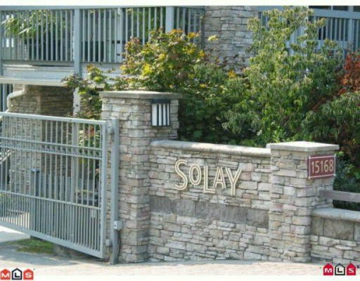 "Main Photo: 55 15168 36TH Avenue in Surrey: Morgan Creek Townhouse for sale in ""The Solay"" (South Surrey White Rock)  : MLS®# F1004715"