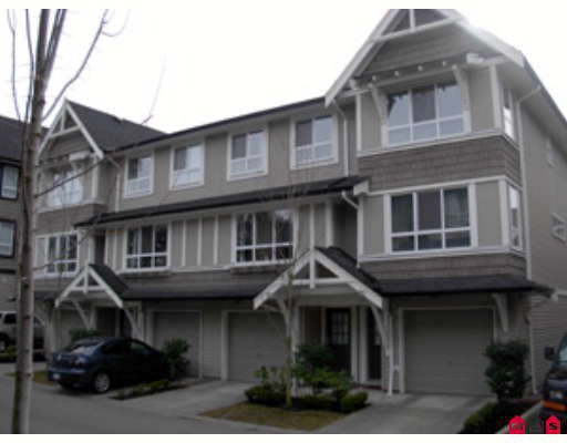 "Main Photo: 10 6747 203RD Street in Langley: Willoughby Heights Townhouse for sale in ""SAGEBROOK"" : MLS®# F2903189"